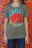 Rodeo Quincy Raw Neck Olive