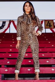 Chiquita Cheetah Jumpsuit