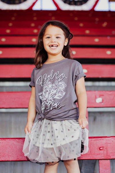 Rodeo Rose Toddler Tee