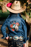 Ride'Em Rosita Toddler Denim Jacket