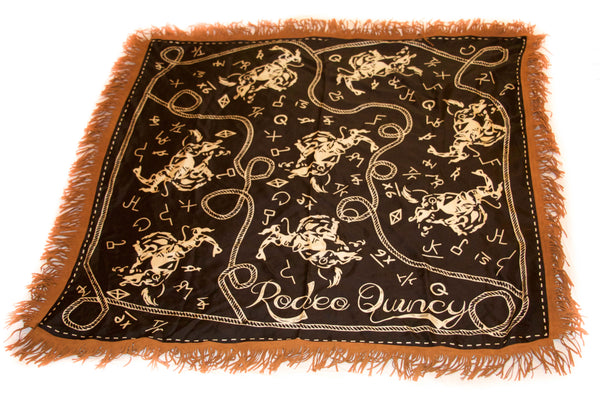 Brands and Bronc Wild Rag