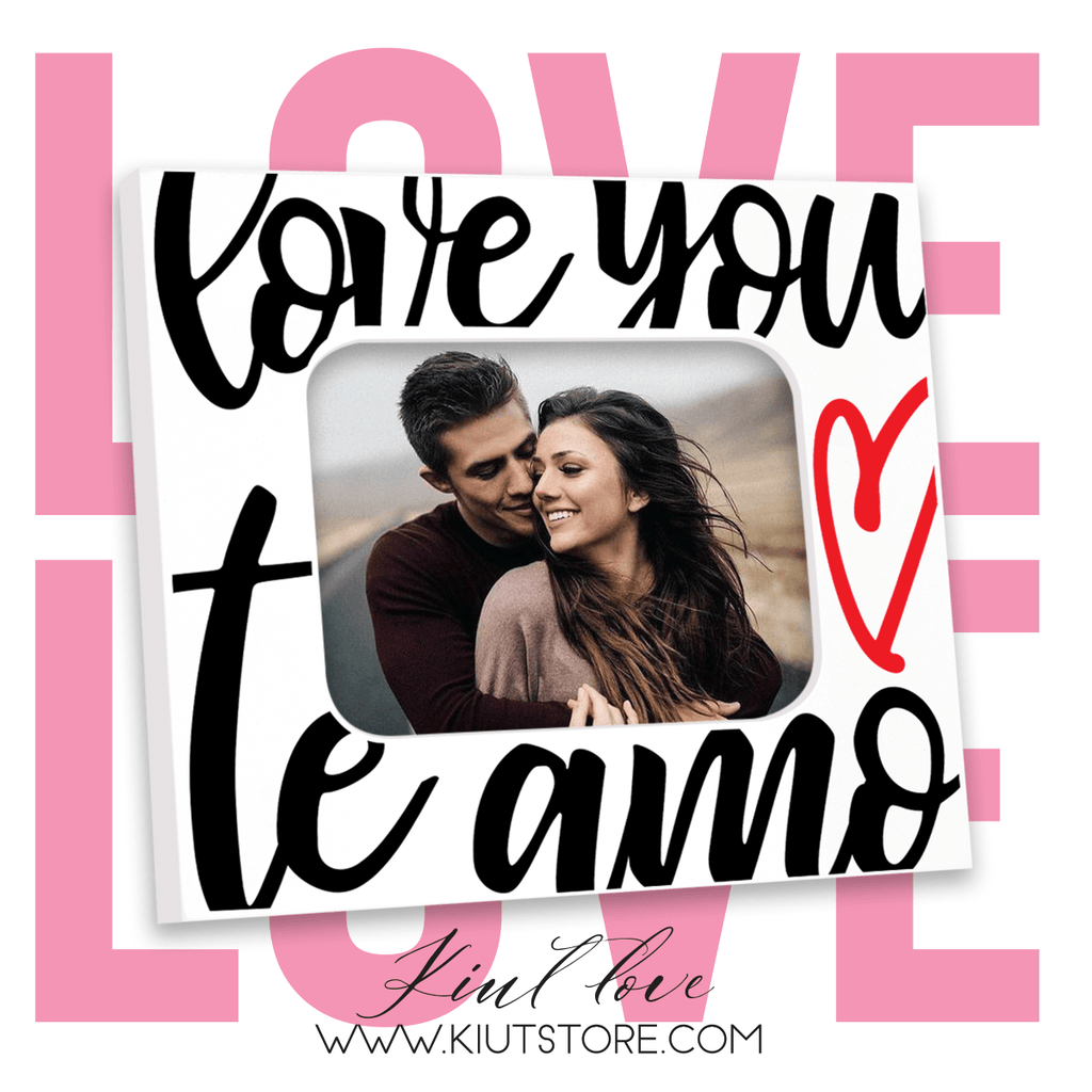 "PORTARRETRATO  / ""LOVE YOU, TE AMO"" / P2070"