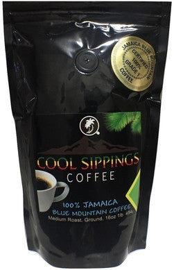 100% Jamaica Blue Mountain Coffee (1 lb/ 454g)