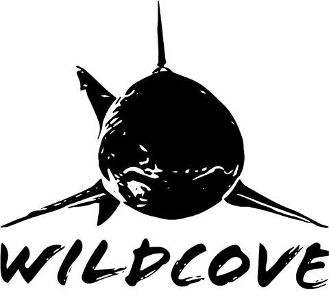 Wildcove White Shark Logo