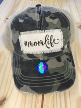 Load image into Gallery viewer, Camo Mom Life Hat