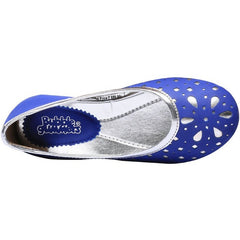 BUBBLEGUMMERS BLUE BALLERINAS FOR GIRLS