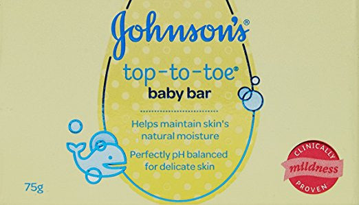 Johnson's Top to Toe Baby Bar,75g