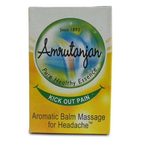 Amrutanjan Aromatic Headache Massage Balm 9Gm