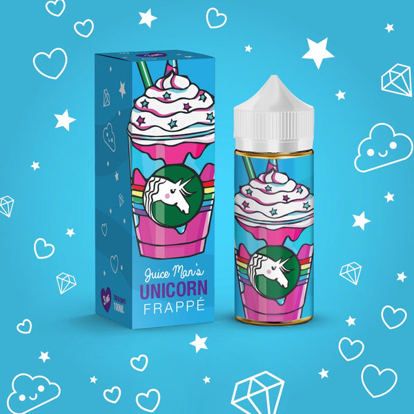 Juice Man's Unicorn Frappe