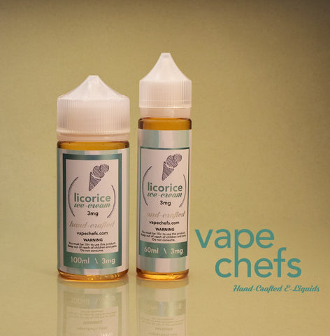 Vape Chefs - Licorice Ice-cream