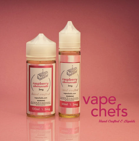 Vape Chefs - Raspberry Cheesecake
