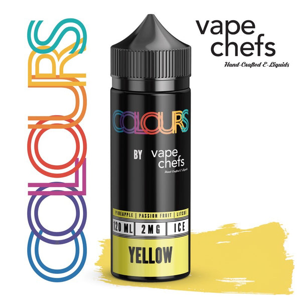 COLOURS by Vape Chefs - Yellow