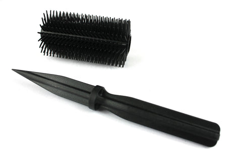 Honeycomb Hair Brush Knife