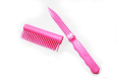 Hairbrush Knives