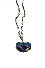 Load image into Gallery viewer, Cloisonné Heron Necklace