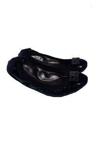 Coach Patent Leather Ballet Flats