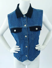 Load image into Gallery viewer, Denim Vest Top
