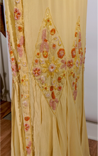Load image into Gallery viewer, 1920's Beaded Silk Dress