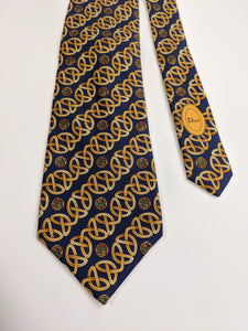 Christian Dior Celtic Knot Tie