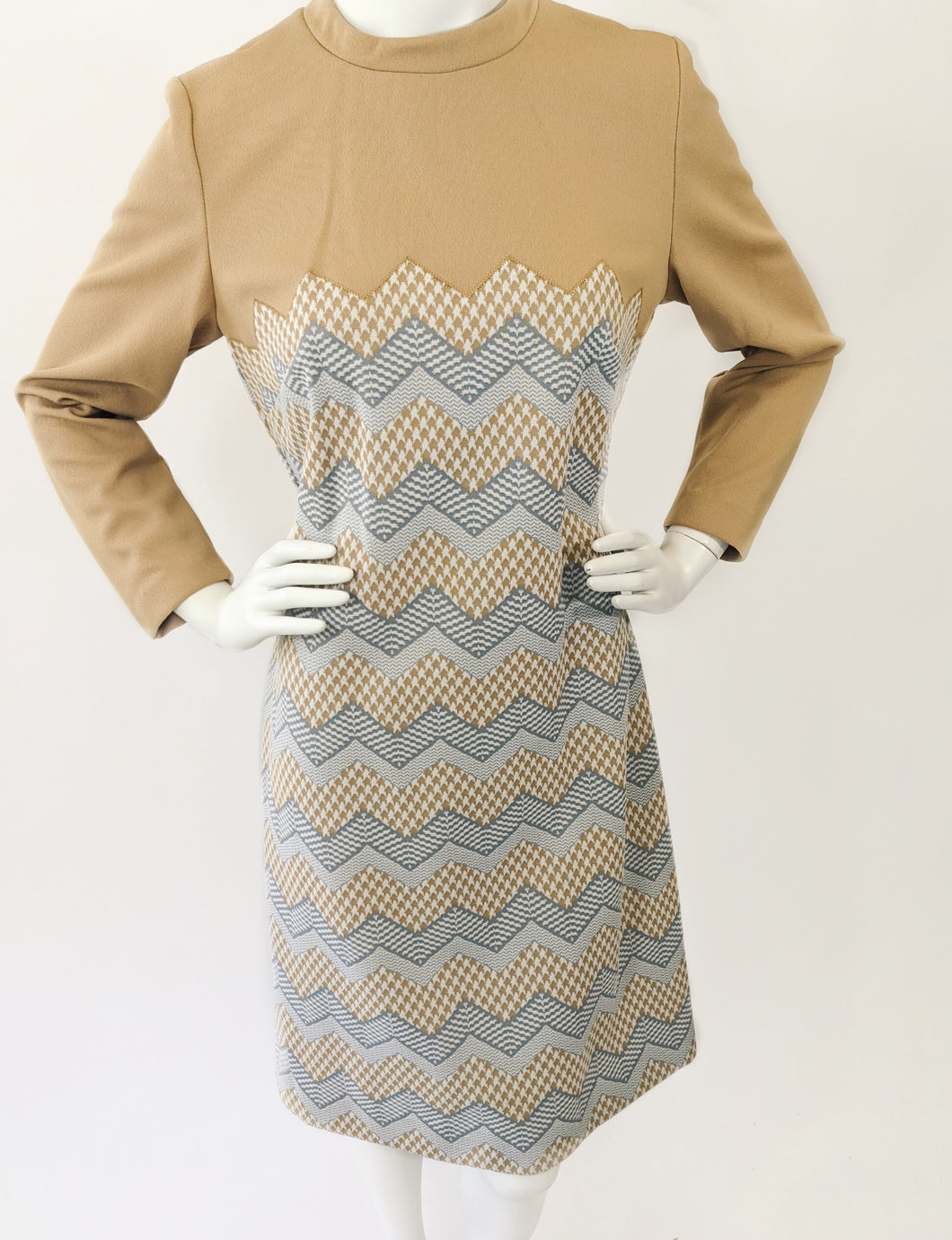 Lady Carol Chevron and Houndstooth