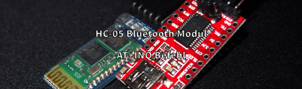 HC-05 Buetooth Modul: AT+INQ Befehl