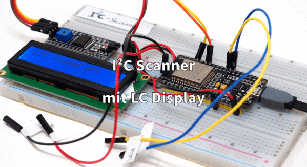 I²C Scanner mit LC Display