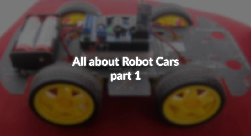 All about Robot Cars - part 1