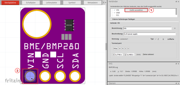 Assign Graphics Connector