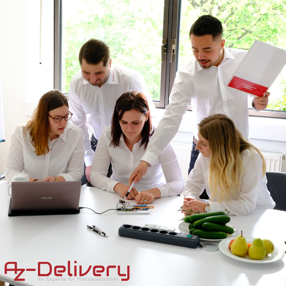 azdelivery team in a meeting