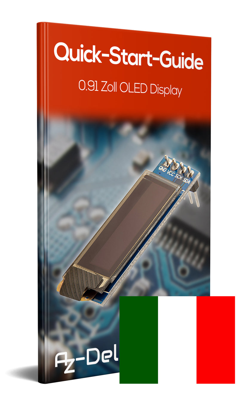 0,91 Zoll I2C OLED Display