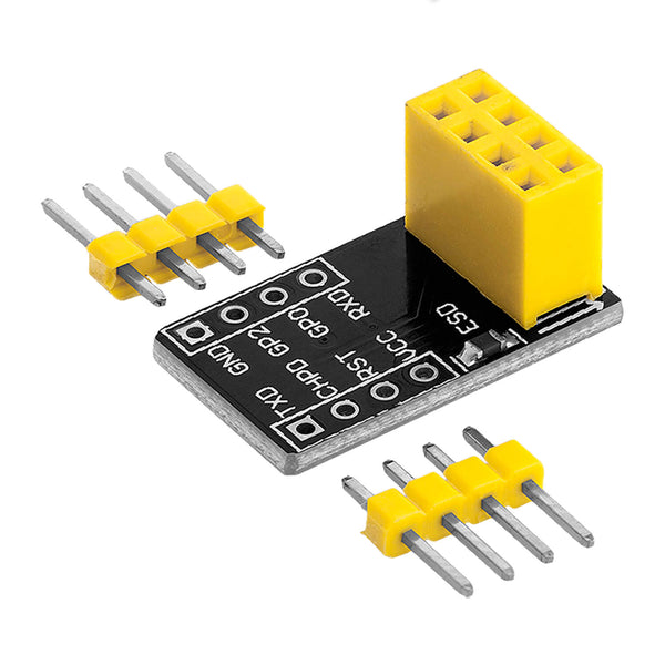 Breadboardadapter für ESP-01 Breadboard-zu-ESP8266 01 Serial Wireless Wifi Module