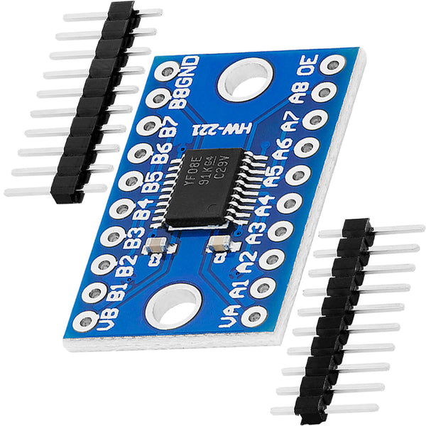 Logic Level Converter TXS0108E 8 Channel pour Arduino et Raspberry Pi
