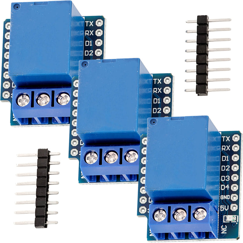 Relay shield for D1mini