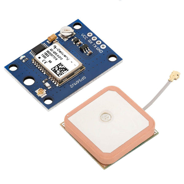 NEO-6M GPS module identical to Ublox