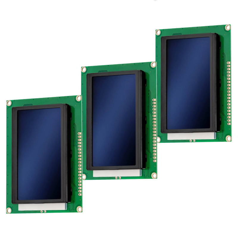 128 x 64 Pixel LCD Display 12864 Display Modul Display AZ-Delivery 3x Display