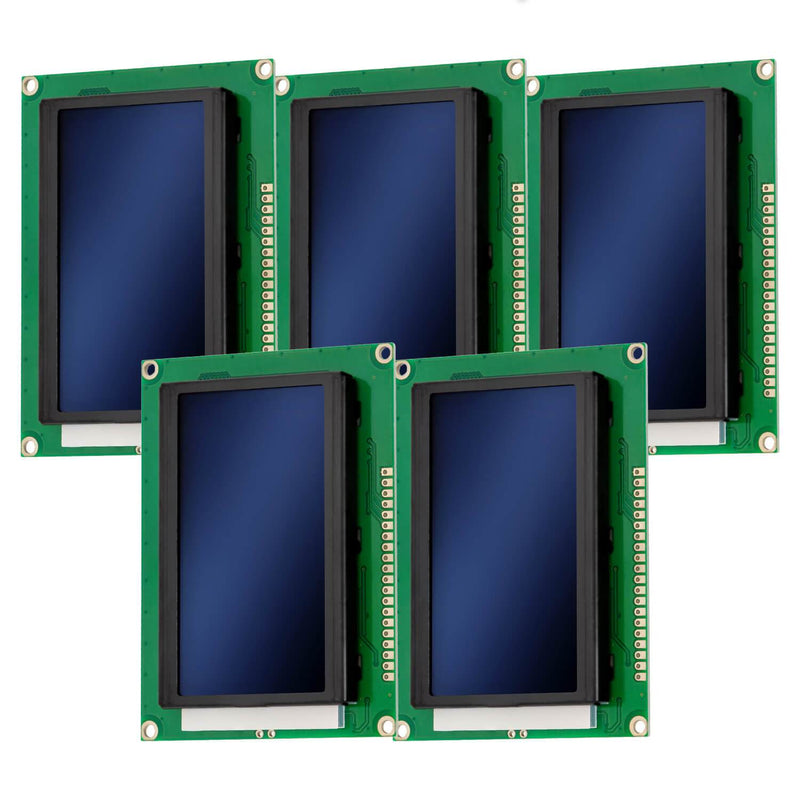 128 x 64 Pixel LCD Display 12864 Display Modul Display AZ-Delivery 5x Display