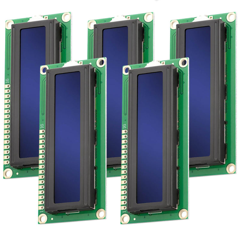 16x2 LCD blaues Display Display AZ-Delivery 5x Display