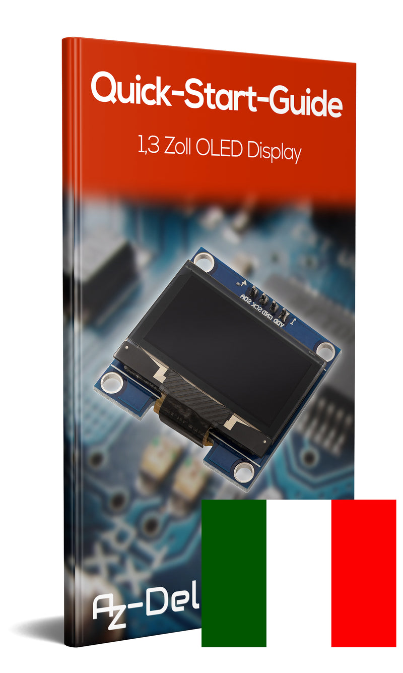 1.3 Zoll I2C OLED Display