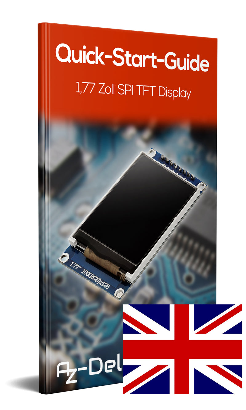 1,77 Zoll SPI TFT-Display