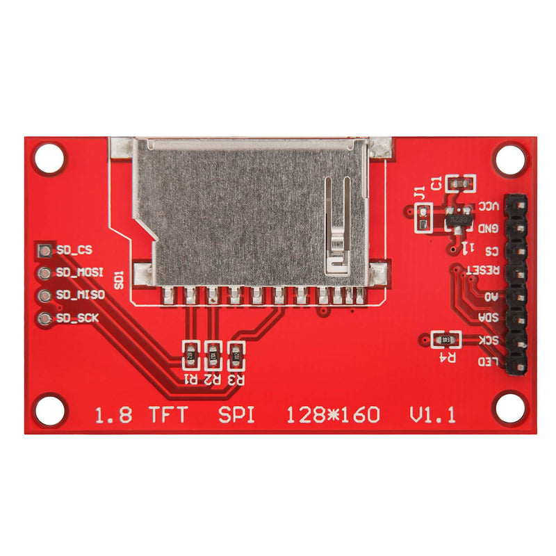 1,8 Zoll SPI TFT Display 128 x 160 Pixeln für Arduino und Raspberry Pi Display AZ-Delivery