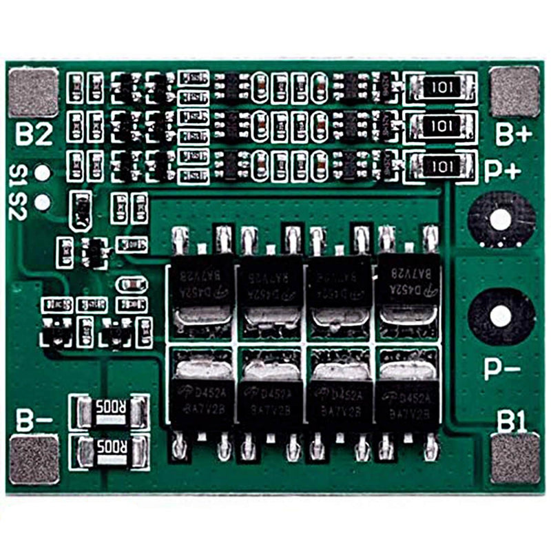 PCB protection Board for 3 Lithium batteries BMS Board module