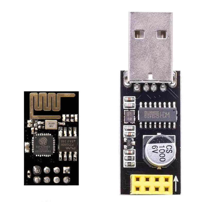 ESP8266 ESP-01 with USB Adapter Wi-Fi Module for Arduino