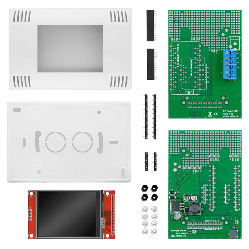 Smarthome Bundle with AZ-Touch, 3x AZ-Envy and Smarthome Book