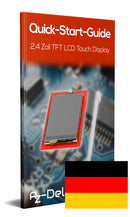 2,4 TFT LCD Touch Display