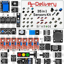 35 in 1 Kit Kit SensorE Arduino e Kit Accessorio per Arduino e altri Microcontrollori