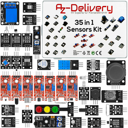 35 in 1 Arduino sensor kit module kit and accessory kit for Arduino and other microcontrollers