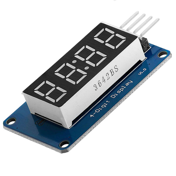 4 Bit Digital Tube LED Display Module I2C with Clock Display for Arduino and Raspberry Pi Display AZ-Delivery 1x Display