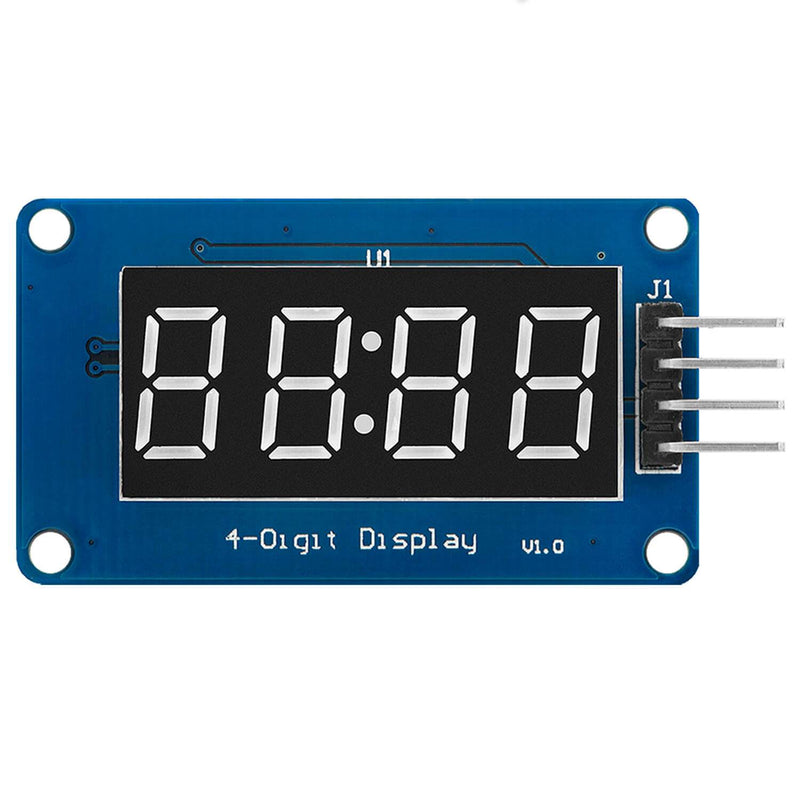 4 Bit Digital Tube LED Display Modul I2C mit Clock Display für Arduino und Raspberry Pi Display AZ-Delivery