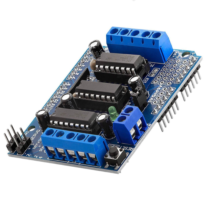 4-channel L293D motor driver Shield stepper motor driver for Arduino Mega 2560 and UNO R3, Diecimila, Duemilanove
