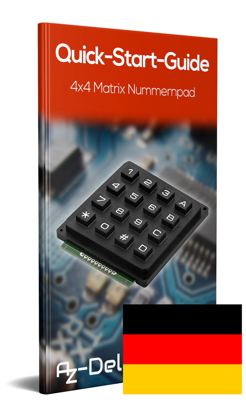 4x4 Matrix Nummernpad